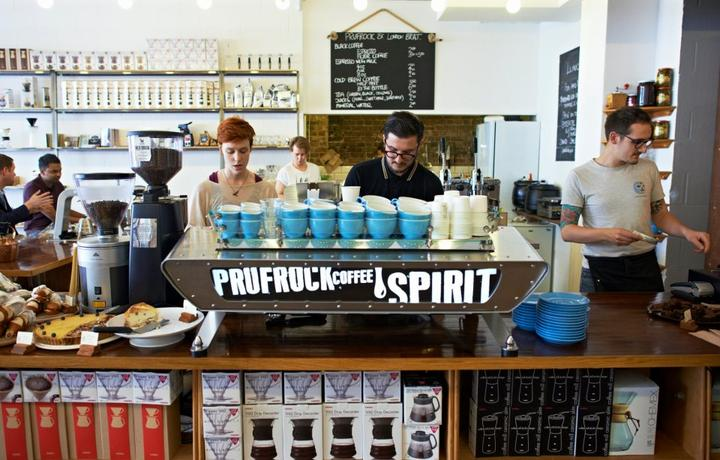 Prufrock Coffee
